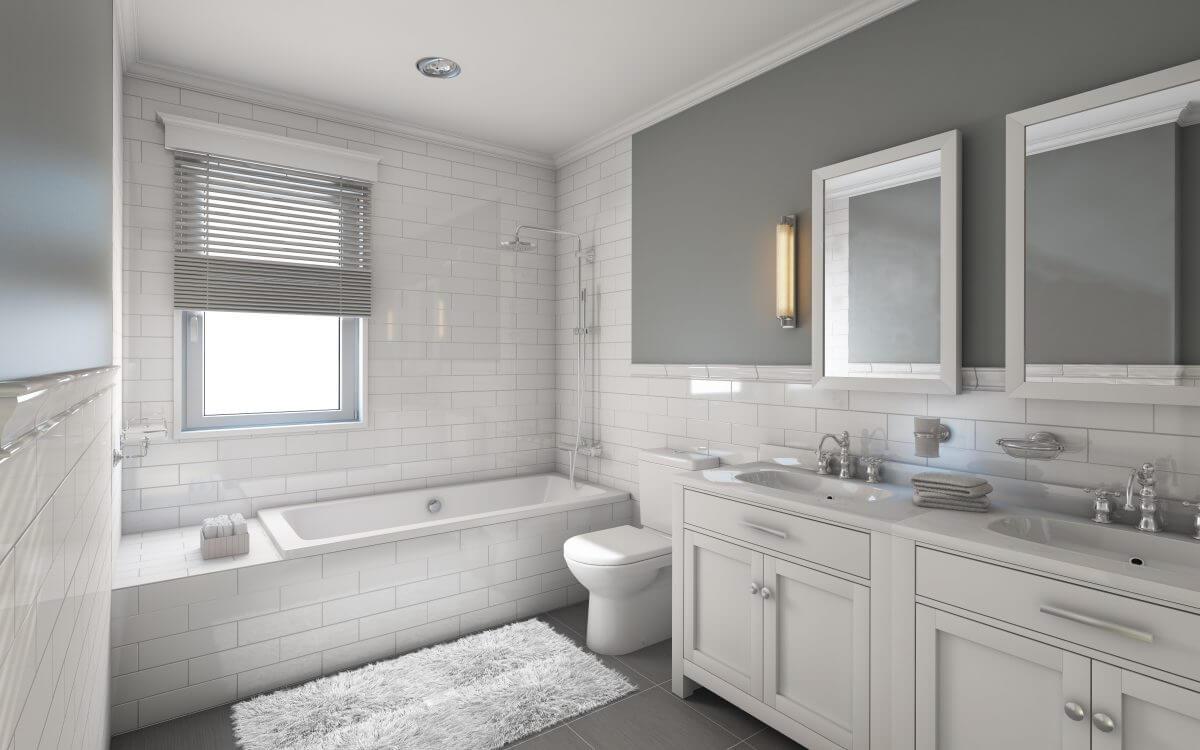 Baderom og toaletter - renhold